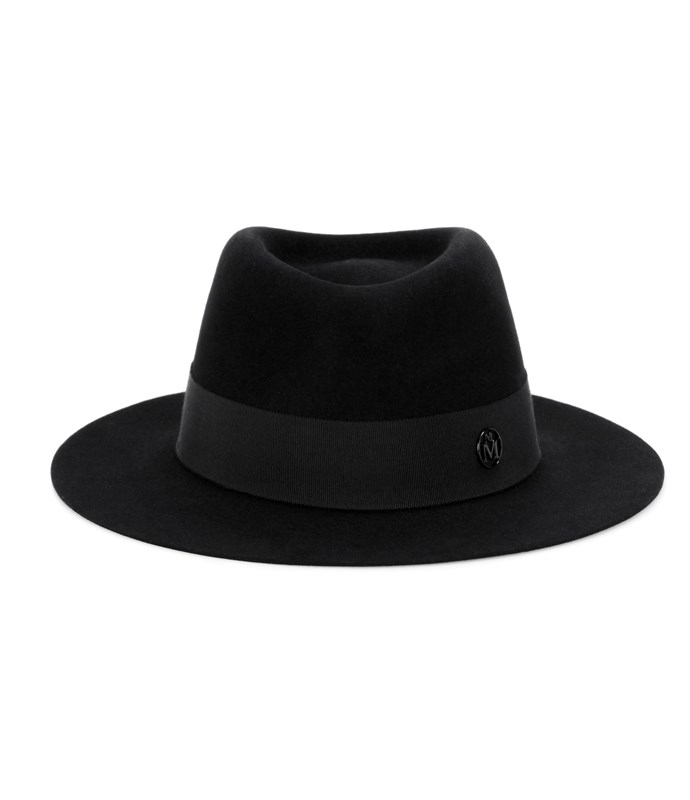 **Maison Michel fedora** $705,[mytheresa.com/andre-rabbit-felt-hat](http://www.mytheresa.com/en-au/andre-rabbit-felt-hat-751663.html?catref=category)
