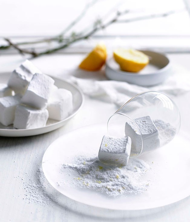 **Lemon sherbet marshmallows**