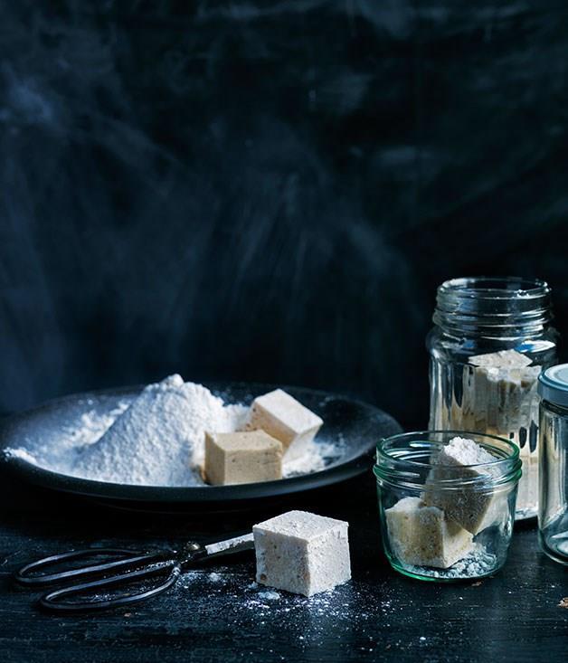 **Vanilla malt marshmallows**
