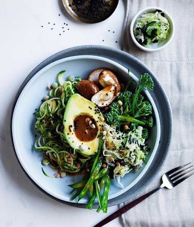 "[**Ultra-green bowls**](http://www.gourmettraveller.com.au/recipes/browse-all/ultra-green-bowls-12718 target=""_blank"")"
