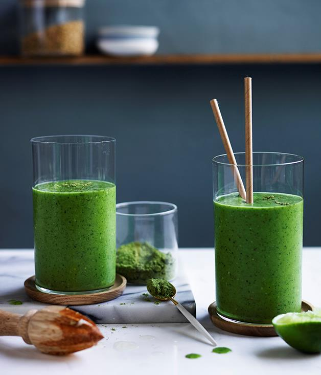 """[Drink-Your-Greens smoothie](http://www.gourmettraveller.com.au/recipes/browse-all/drink-your-greens-smoothie-12723