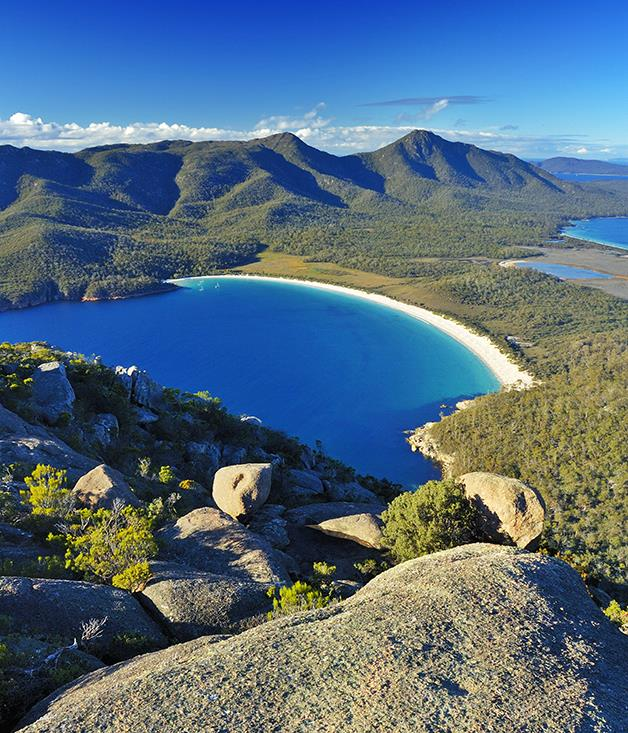 "**TASMANIAN WORLD HERITAGE** Keep it local on this southern Tasmanian coastal cruise, which explores territory otherwise accessible only via a seven-day hike or by light aircraft. Spend two days exploring the World Heritage wilderness area at Port Davey and Bathurst Harbour. Hike to Wineglass Bay, or try a segment of the South Coast Track. Visit Maria Island and Port Arthur. Pop in to family-run Grandvewe Cheeses to taste artisanal produce, and enjoy freshly shucked oysters and wine tasting on Bruny Island. Local produce and wines are served on Coral Expeditions I, a boutique twin-hulled catamaran designed for 50 guests with an all-Australian crew.  _The seven-night ""Pristine Tasmania"" on_ Coral Expeditions I _departs Hobart regularly from November 2017 to February 2018. [coralexpeditions.com.au](https://www.coralexpeditions.com/au/)_  _Photo: Alistair Scott/Alamy Stock Photo_"