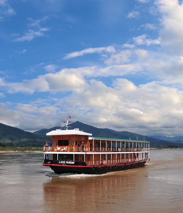 "**CHINESE MEKONG** On a four-country river expedition last year, Pandaw became the first Western operator to reach China via the Upper Mekong River, through Laos, Myanmar and Thailand. This fascinating itinerary has opened up Yunnan province to high-end tourism. It includes overnight stops in Vientiane and Luang Prabang in Laos, Chiang Saen in northern Thailand and Jinghong in Yunnan, and can be combined with a Pandaw cruise from Ho Chi Minh City to Siem Reap to navigate the entire length of the fabled river.  _The 14-night ""The Mekong: From Laos to China"" on_ Champa Pandaw _departs Vientiane from September to November 2017. [pandaw.com](https://www.pandaw.com/)_"