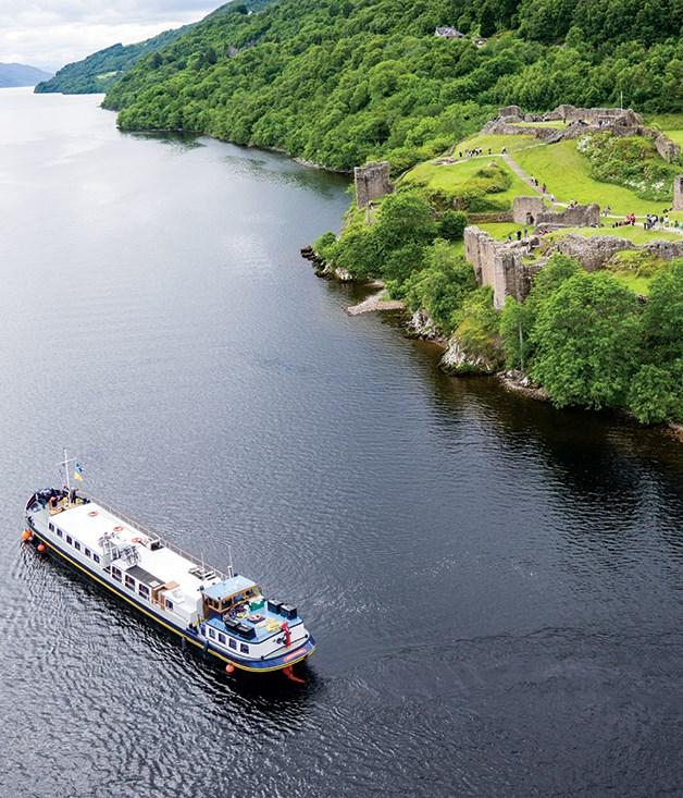 "**WHISKY TRAIL** Round up seven friends to book out an eightpassenger hotel barge (with four crew and a chef) on the _Caledonian Canal_, linking Scotland's east and west coasts. Enjoy the Scottish spirit at three historic distilleries - Benromach, Glen Ord and Dalwhinnie Distillery in Cairngorms National Park - with private tastings and tours. Optional excursions take in Eilean Donan castle, the battlefield of Culloden Moor and the ruins of Urquhart Castle overlooking Loch Ness. On board, the menu is focused on regional seafood, game, cheeses and single malts. The barge operator, European Waterways, takes bookings for individual cabins on select dates but most weekly departures are by charter only.  _The six-night ""Whisky Trail"" on_ Scottish Highlander _departs Inverness; charters are available year-round. [gobarging.com](http://gobarging.com/)_"