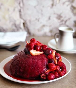 Saint Peter's summer pudding