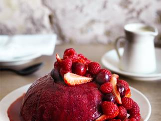 Saint Peter's summer pudding