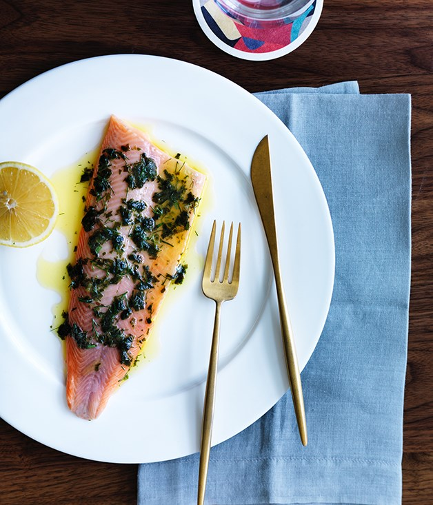 """**[Fish recipes for Easter, Good Friday and beyond](https://www.gourmettraveller.com.au/recipes/recipe-collections/easter-fish-recipes-14837 target=""""_blank"""")**   Easter is for Good Friday is for fish. From whole-roasted John Dory to beetroot-cured ocean trout, we have all the fish dishes you need."""