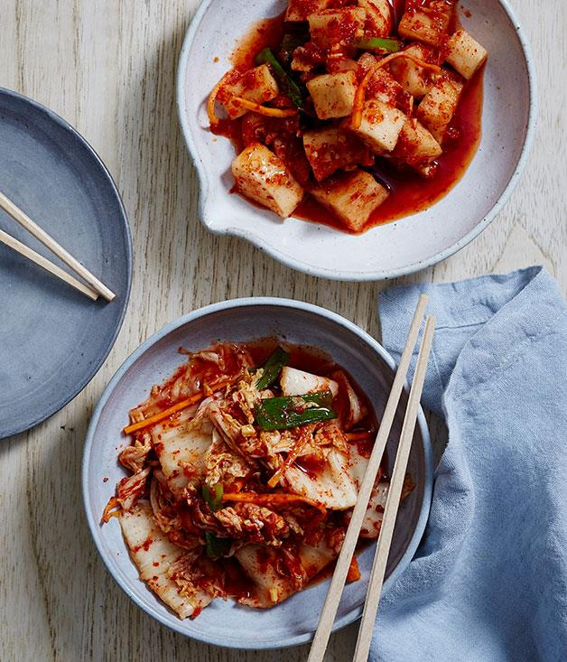 "**[David Chang's kimchi masterclass](https://www.gourmettraveller.com.au/recipes/browse-all/david-changs-kimchi-14241|target=""_blank"")**"