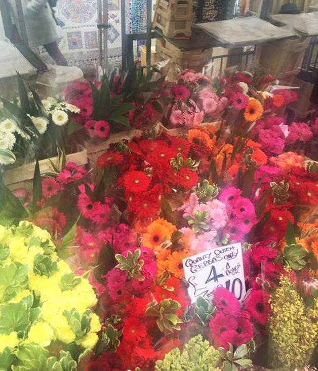 "**COLUMBIA ROAD FLOWER MARKET, SHOREDITCH** ""Morning shopping on a Sunday always starts down at the Columbia Road Flower Market in Shoreditch. So many colours, different types of people, smells and sounds. So very East London."""