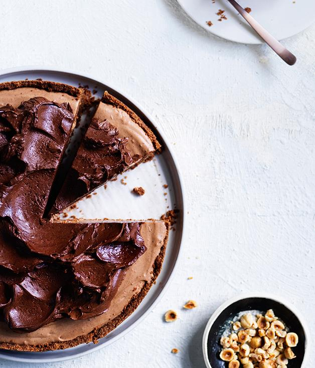 "**[Chocolate ricotta cake](https://www.gourmettraveller.com.au/recipes/browse-all/chocolate-ricotta-cake-12753|target=""_blank"")**"
