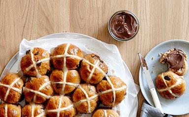 Hot cross bun recipes for Easter