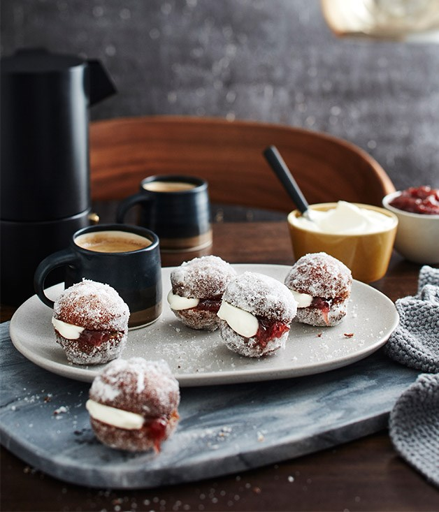 """[Hentley Farm's Kitchener buns](http://www.gourmettraveller.com.au/recipes/chefs-recipes/hentley-farms-kitchener-buns-9311 target=""""_blank"""")"""