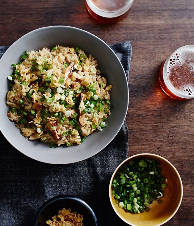 Yardbird Hong Kong mushroom rice recipe