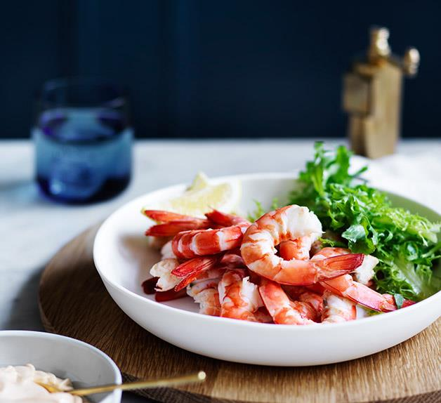 King prawns and brown butter recipe