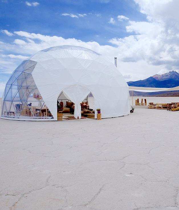 """**One-night stands** It's the ultimate bivouac for those who'd rather follow their dreams than an Instagram feed. A new travel service called Blink promises to deliver """"hyper-personalised experiences"""" almost anywhere on Earth. Choose your ideal destination, style of luxury digs (yurt, dome etc) and amenities - perhaps an Andean pisco bar in Chile's Valley of the Moon? - and Blink makes it happen. Launched by leading British travel agent Black Tomato in December, the service promises totally customisable travel, right down to the brand of toiletries in bathrooms and the labels in your portable cellar. Its pop-up lodges have already colonised Oman's Musandam Peninsula, the dunes of the Sahara and an unpronounceable glacier in Iceland. Then they   disappear without trace, the same experience never repeated. The cost of absolute freedom? Budget on at least $80,000 for a party of six for three days. Airfares extra. [blacktomato.com/blink](https://www.blacktomato.com/blink/)"""
