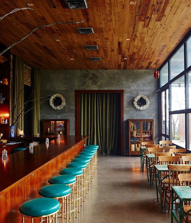 """**The Capri, Marfa** Deep in the heart of West Texas, in the desert city of Marfa, chef Rocky Barnette and collector Virginia Lebermann are the American food couple to know next. Lebermann co-founded the non-profit arts and culture institution Ballroom Marfa and owns The Capri, a restaurant and performance space, where Barnette showcases pre-conquest Mesoamerican cooking techniques. Barnette is a tequila fanatic who regularly hops across the border to source Chihuahuan Desert ingredients such as jicama, huitlacoche, epazote and amaranth for an """"eat when it's ready"""" menu that appeals to this remote arts community in Big Bend country. Order chilled Modelos or Lone Star longnecks to pair with his prickly pear-braised rabbit tamales, calabaza squash-masa fritters, and turkey in black-garlic mole Poblano. [thunderbirdmarfa.com](http://www.thunderbirdmarfa.com/)"""
