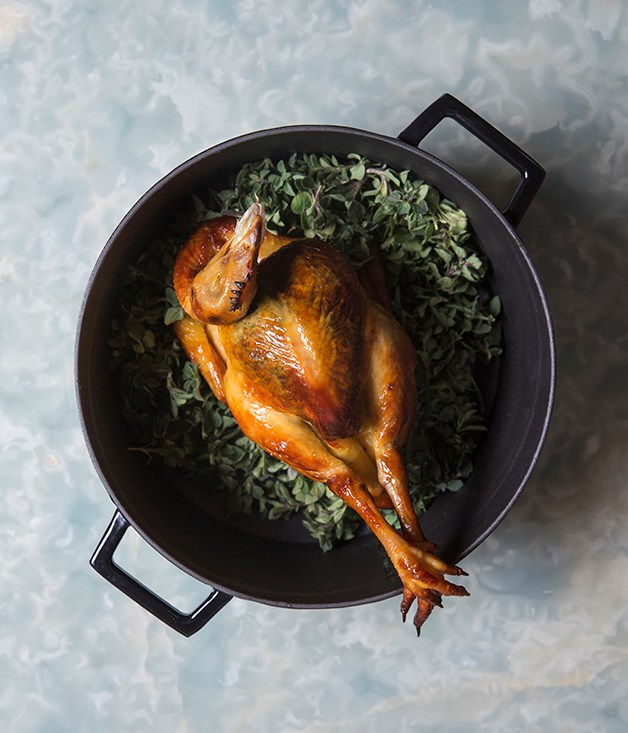 """**Bird of paradise** Yeah, it's a hundred-dollar chicken. Or $578 Hong Kong dollars to be precise. But it's really something - trussed with care so it's roasted to a rich, deep gold all over, stuffed with button mushrooms, spinach, chicken liver and a bouquet of rosemary, thyme and flat-leaf parsley. The flavour of the bird itself is excellent - in a city where the term """"jet-fresh"""" is used without irony, it's pleasing to see a Western restaurant finding a good local product rather than simply flying everything in from Paris or Tokyo - and the accompanying petits pois à la Française and pommes Anna are impeccable. It's served whole, from beak to claw, which prompts the intriguing question: are Hong Kong's finest chicken feet now served in a French restaurant? [belonsoho.com](http://belonsoho.com)"""