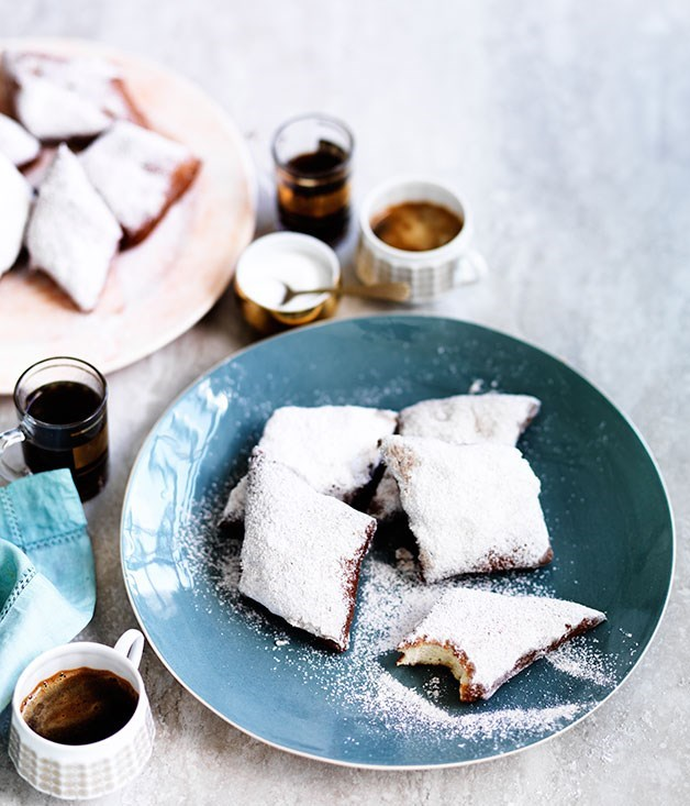 **New Orleans-style beignets with anise sugar**