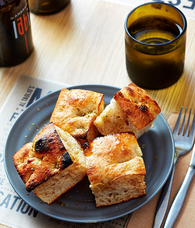 """**Focaccia is back** With handsome examples coming from the likes of Fugazza in Melbourne and Sydney's Bar Brosé (with seaweed butter, no less), the question isn't so much """"why is focaccia coming back now?"""" as """"why did it go away in the first place?"""" The loaves Enrico Sgarbossa turns out at Sydney pizzeria Al Taglio are impressive enough to put any questions of retro naffness to rest permanently. He ferments the dough for 20 hours at 18 degrees, putting a third more water into it than most recipes call for, producing a result that's light and spongy but full of flavour. Fugazza, 31 Equitable Pl, Melbourne, Vic; [barbrose.com.au](http://barbrose.com.au/); [altaglio.com.au](http://www.altaglio.com.au/)"""