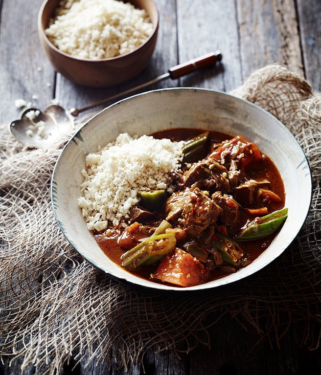"[**Jamaican goat curry**](https://www.gourmettraveller.com.au/recipes/chefs-recipes/jamaican-goat-curry-8098|target=""_blank"")"