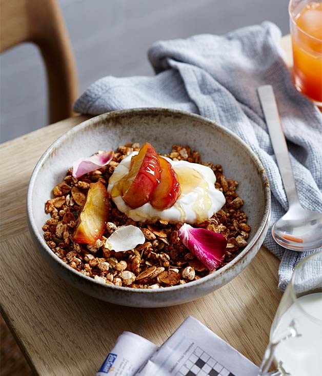 Pigeon Hole's gingerbread granola recipe