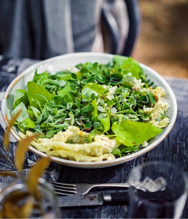 **Winter green salad**