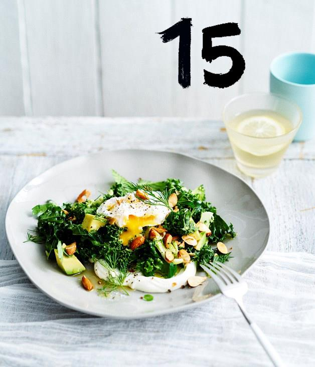 """[**Ruby's Diner's breakfast salad**](https://www.gourmettraveller.com.au/recipes/chefs-recipes/rubys-diner-breakfast-salad-9299