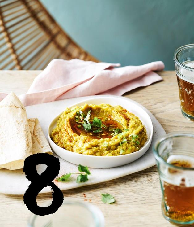 """[**Blue Nile's Ethiopian eggplant dip**](https://www.gourmettraveller.com.au/recipes/chefs-recipes/blue-niles-ethiopian-eggplant-dip-9303