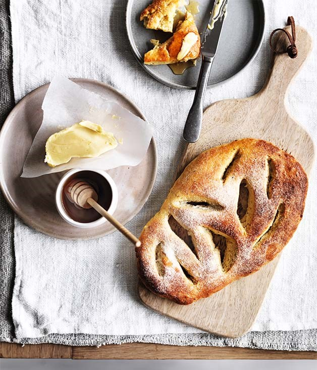 Anise fougasse recipe