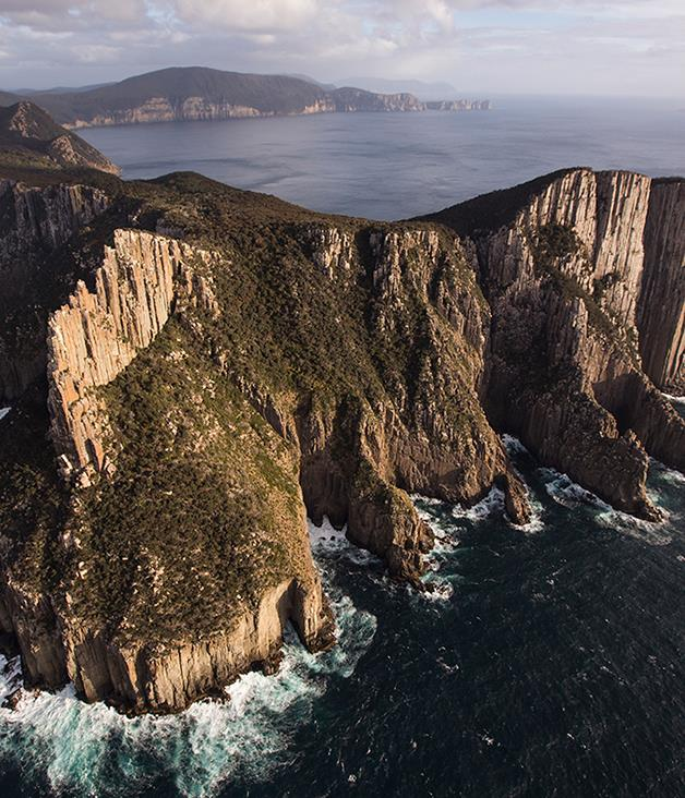 **Cape crusade** Coming soon to Australia's newest wilderness walk are Australia'snewest lodges. High-end hiking outfit Tasmanian Walking Company will open two shelters along the Three Capes Track when it launches its guided four-day, 46-kilometre walks late this year. The solar- and wind-powered lodges, at Surveyor's Cove and Munro, will sleep 14 guests in seven rooms on high rotation - the company plans three departures a week in peak season. Founded by former airline chiefs Brett Godfrey and Geoff Dixon, Tasmanian Walking Company has the monopoly on Tasmania's great walks; it also operates the Bay of Fires and Cradle Mountain Huts walks, as well as Victoria's Twelve Apostles Lodge Walk. [taswalkingco.com.au](https://www.taswalkingco.com.au/)
