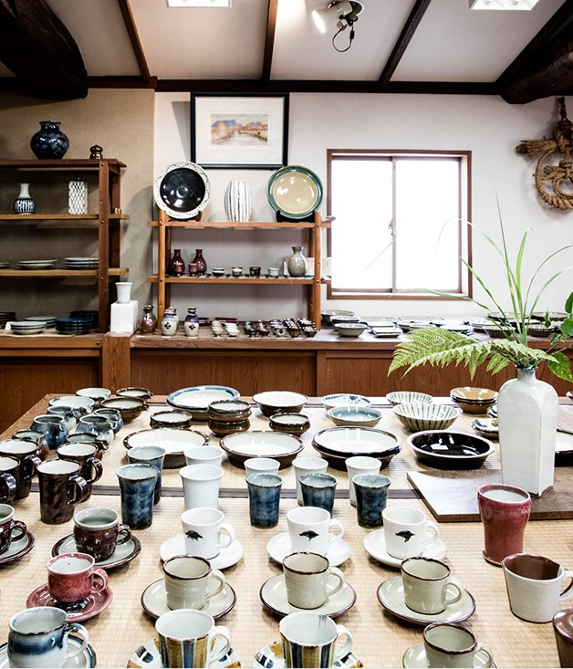 **Workshop in Shimane Prefecture** Yu Sasaki imported almost $25,000 worth of plates and pottery from artisan workshops in Shimane.   _Photo by: Brett Boardman_