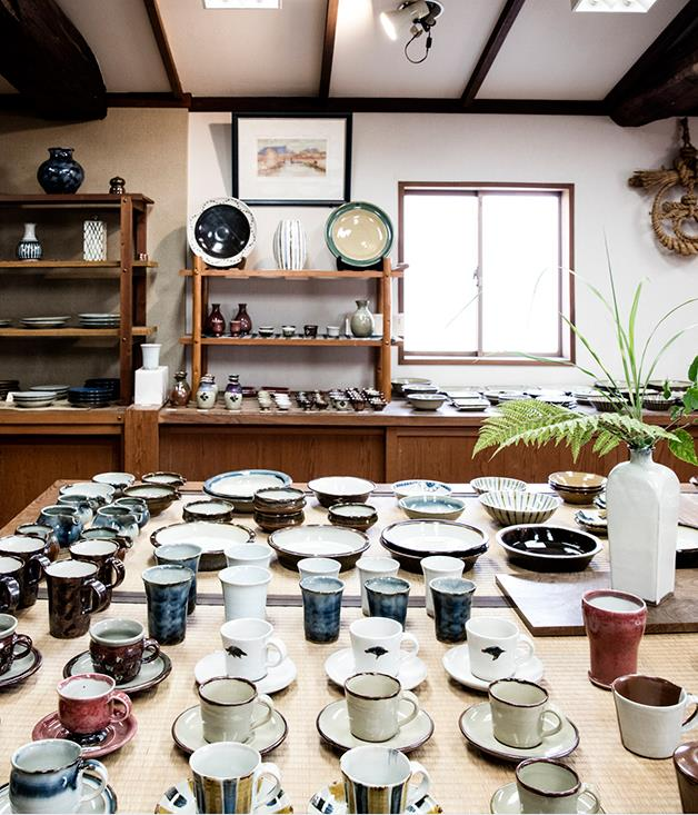 **Workshop in Shimane Prefecture** Yu Sasaki imported almost $25,000 worth of plates and pottery from artisan workshops in Shimane.  _Photo by:Brett Boardman_