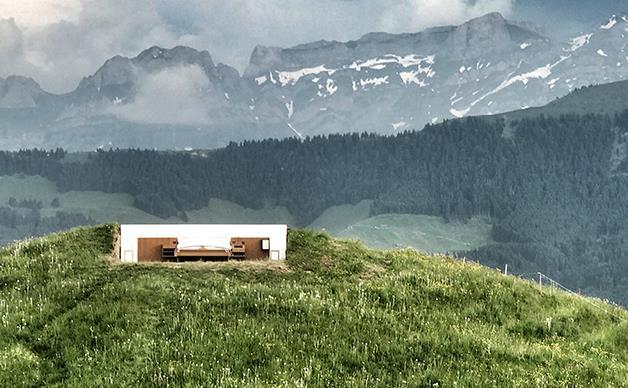 Switzerland's outdoor hotel returns