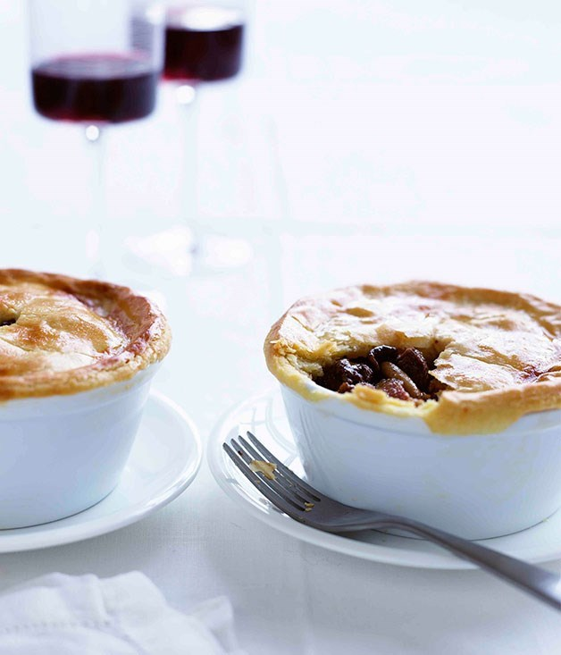 "**[Game pie](https://www.gourmettraveller.com.au/recipes/chefs-recipes/game-pie-7833|target=""_blank"")** A pie fit for a courtly feast. One that hopefully doesn't end in murder."