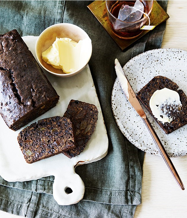 **Malt loaf** Dark heavy bread that's perfect sustenance after a long day on the battle field. Substitute milk for ale if you're feeling particularly decadent.