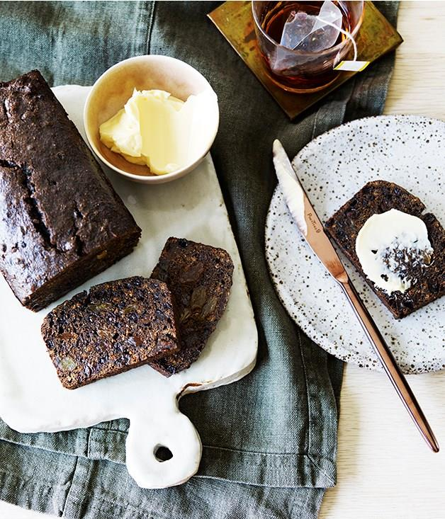 """**[Malt loaf](https://www.gourmettraveller.com.au/recipes/chefs-recipes/silvereyes-malt-loaf-9261