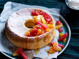 Pauline Kwong's chiffon cake with citrus and ginger