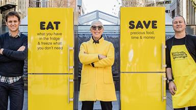 OzHarvest is fighting food waste by looking in your refrigerator