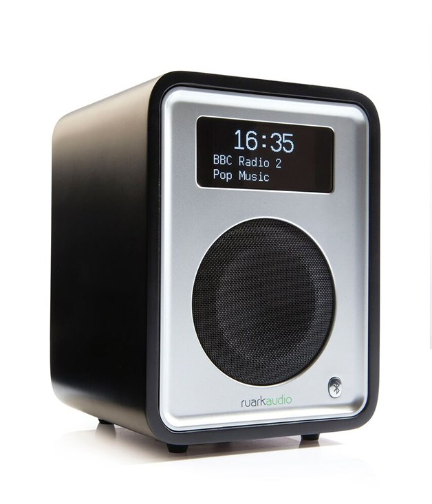 **Ruark Audio R1 tabletop radio** This sleek digital radio combines a compact design with Bluetooth connectivity, a convenient USB port to charge your phone and 30 years of sound engineering experience. With a choice of black or white lacquer or walnut veneer, it's a stylish way for Dad to listen to his favourite tunes. _Available from [ruarkaudio.com](http://www.ruarkaudio.com/), $499._