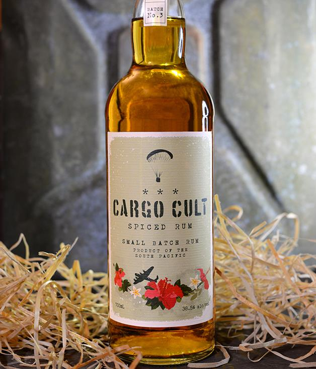 **Cargo Cult rum** With no added sugar, this spiced rum lets the natural flavours of hand-cut sugarcane from Fiji and Papua New Guinea shine through alongside notes of ginger, cardamom, vanilla and clove. Great in a Dark and Stormy or simply on the rocks. _Available from [cargocultrum.com.au](http://cargocultrum.com.au/), $55-$60._
