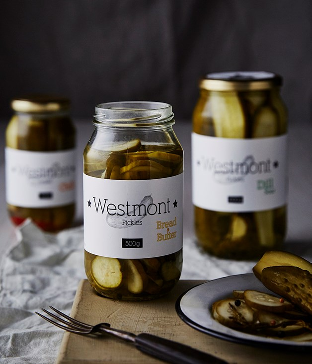**Westmont Pickles** Two years ago, pickle fanatics Calvin Lidden and Joel Mevissen put their years of hospitality experience to new use and started Westmont Pickles in a Surry Hills backyard. Since then, their hand-picked and hand-packed pickles have been seen on menus at Bistrode CBD and Belles Hot Chicken. _Available from [westmontpickles.com](http://www.westmontpickles.com/),$6.50 for 500g._