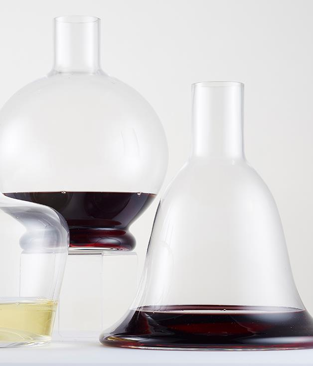 **Riedel crystal decanter** The gentle curves of Riedel's latest crystal decanters are inspired by vintage whisky and Cognac bottles. We love the bell shape of the Macon. _Available from [riedel.com.au](http://riedel.com.au/), $279.95._