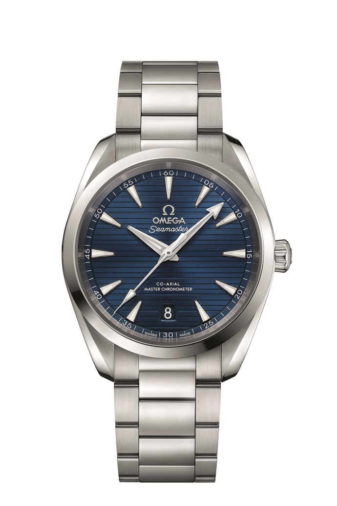 **Omega Seamaster Aqua Terra Co-Axial watch** If it's a sporty timepiece you're after, this Omega watch fits the bill. It features a face with vertical lines inspired by the wooden decking on luxury ships, day-date display, and rhodium-plated hands and indexes, as well as case metal, bracelet and leather finishes. _Available from [omegawatches.com](https://www.omegawatches.com/), $7,400._
