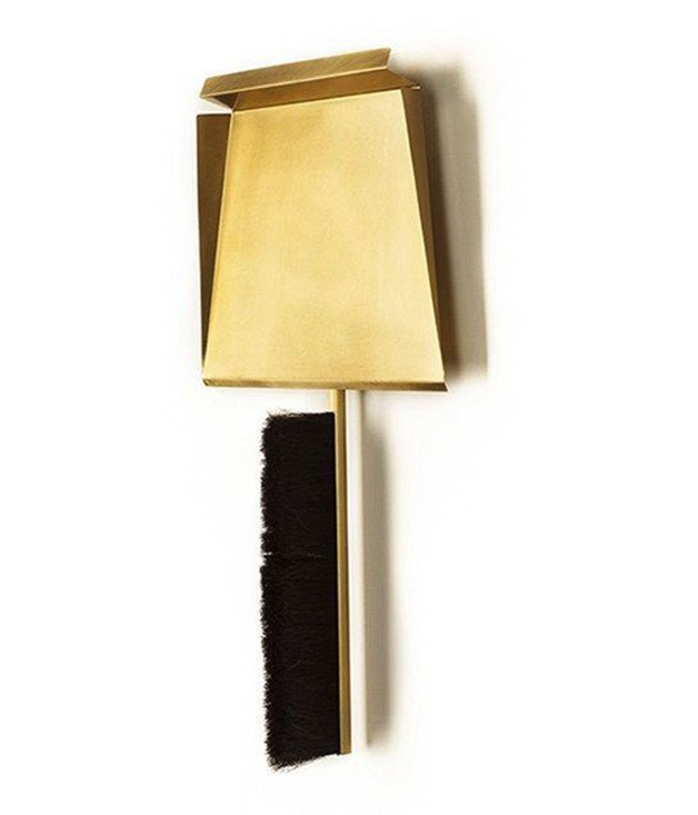 **Gentner Dustpan** Make cleaning a stylish event with this handcrafted tarnished brass and horsehair dustpan and brush. The set comes with a magnetic peg, allowing your tidying tools to be on display, while offering first-class cleaning convenience.  <br><br>*Available from [beckerminty.com](https://www.beckerminty.com/gentner-gentner-design-sweep-brass-and-horsehairdu.html), $295.*