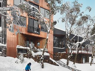The new Astra Lodge, Falls Creek