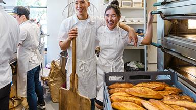 Perth's Chu Bakery: home to the matcha choux puff