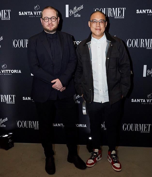 Automata's Clayton Wells and Dan Hong of Merivale.