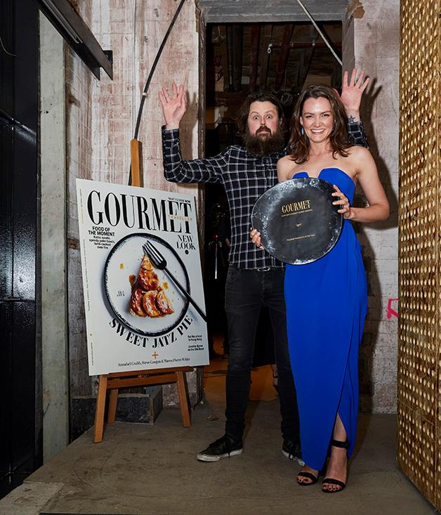 Igni's Aaron Turner and Joanna Smith took home the award for Regional Restaurant of the Year.