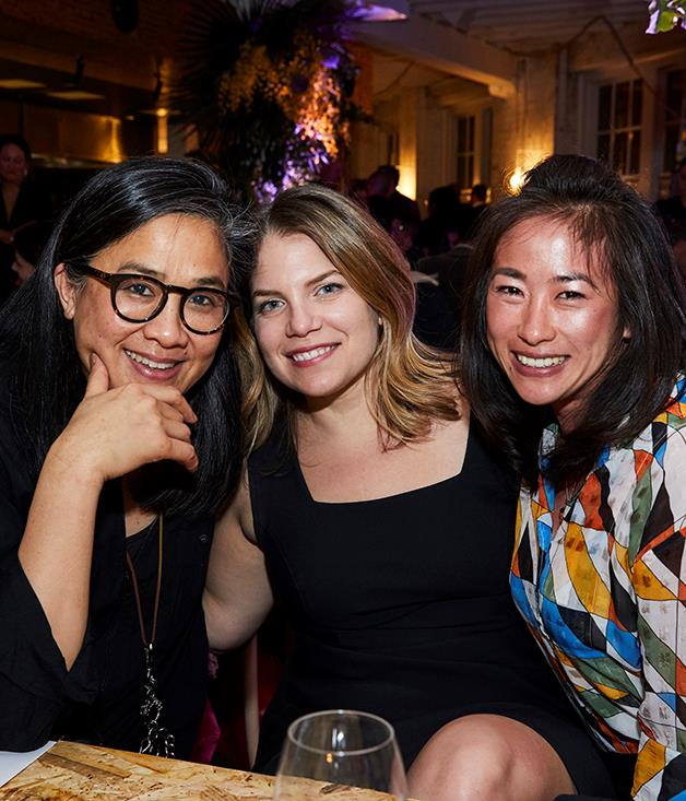 Kylie Kwong, Danielle Alvarez and Palisa Anderson of Chat Thai.