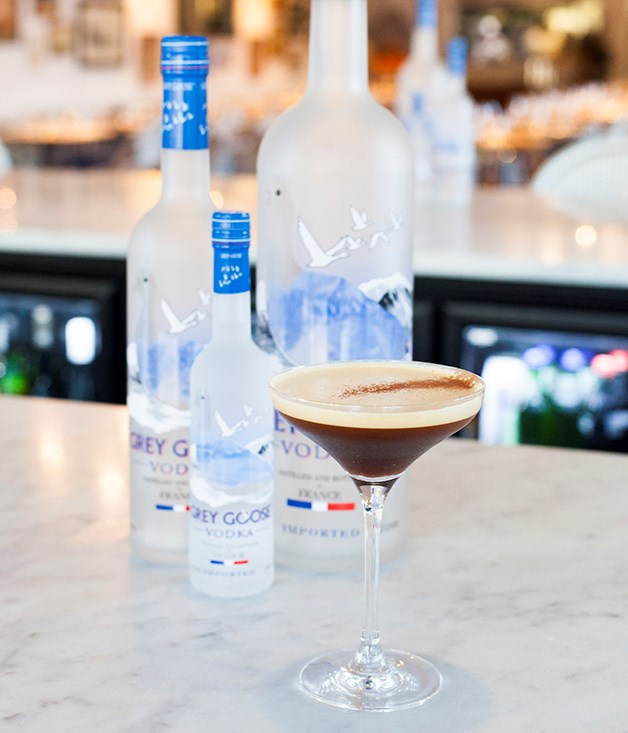 **Grey Goose Espresso Martini** Wren's Espresso Martini is less cloying than others, and is always made with a pinch of fleur de sel.